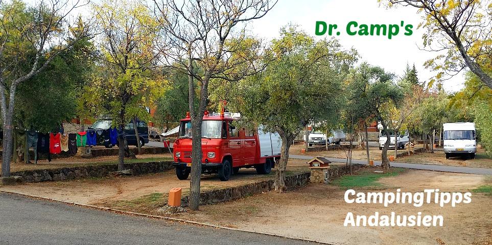 Campingplätze Andalusien