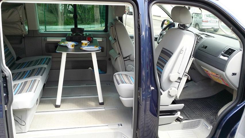 Ein VW T5 California Beach wird zum Reisemobil!