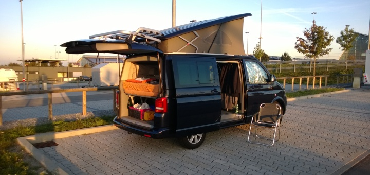 VW T5 California Beach
