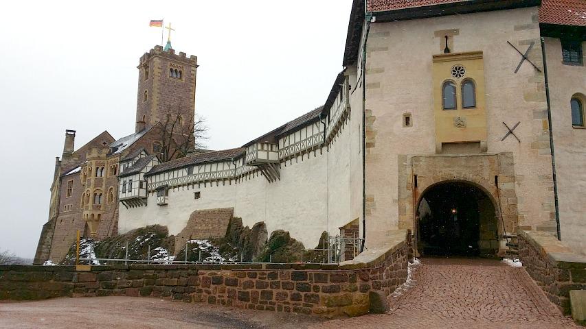 Wohnmobilstellplatz Eisenach
