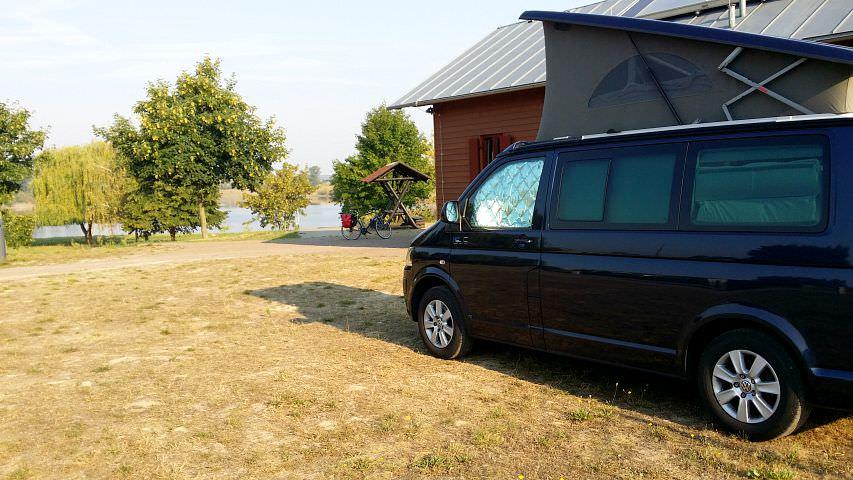 Campingplatz an der Elbe