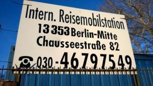 Reisemobilstellplatz Berlin
