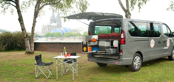 opel vivaro plus ququq campingbox der quivaro. Black Bedroom Furniture Sets. Home Design Ideas
