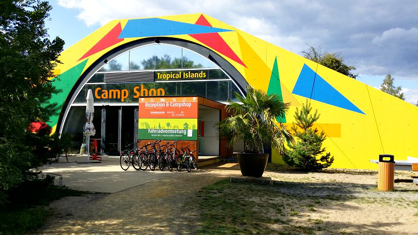 Tropical Islands Camping