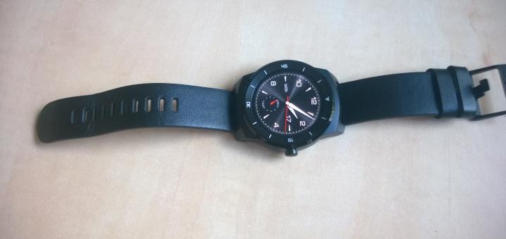 LG G Watch R Smartwatch