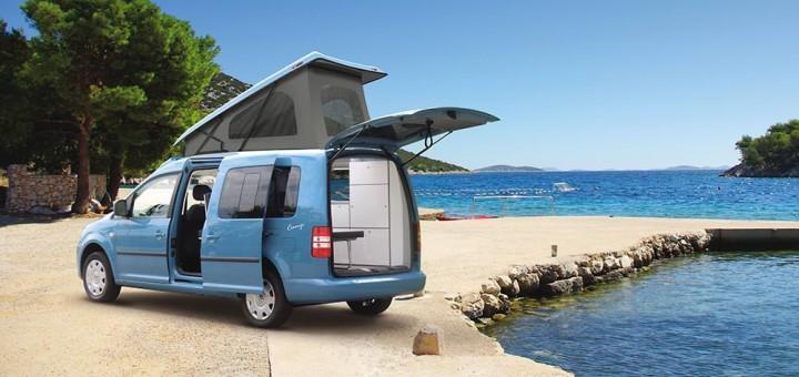 kleiner ist geiler vom t5 california zum vw caddy camper. Black Bedroom Furniture Sets. Home Design Ideas