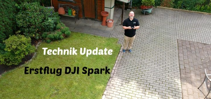 Erstflug DJI Spark