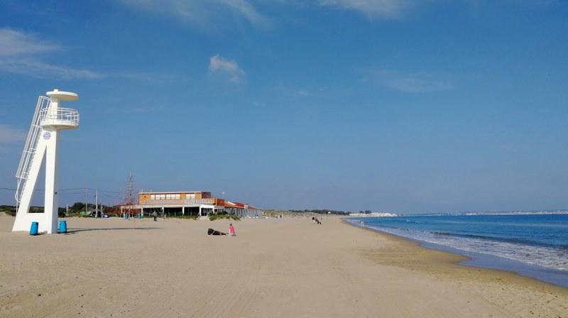 Spanien mit dem Wohnmobil La Marina Strand
