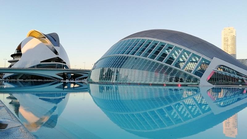 Spanien mit dem Wohnmobil Spiegelung