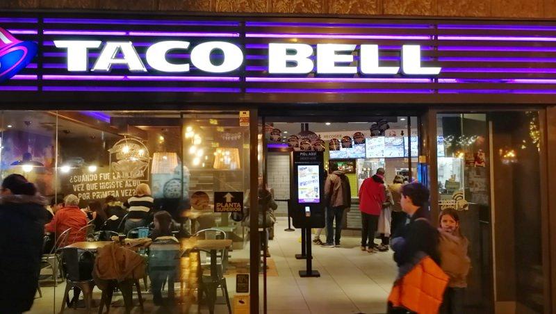Spanien mit dem Wohnmobil Valencia Taco Bell