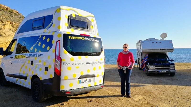 Spanien mit dem Wohnmobil Katie Nugget