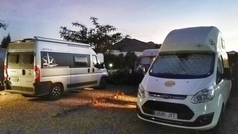 Camping Südspanien mit JayBe