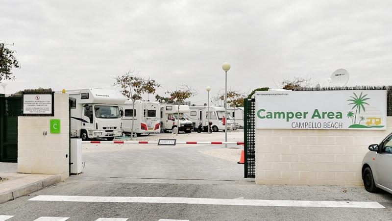 Camping Südspanien Camper Area Campello