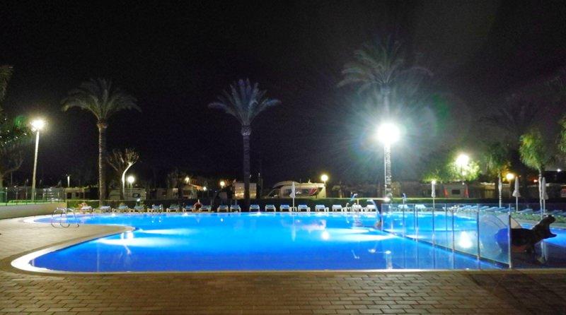 Camping Südspanien Pool